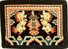 Tibetan Shigatse 'Goyul' Rug (Snow Lions),