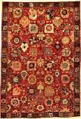 Fine Tabriz 'PETAG' Carpet 'Safavid Kerman- Vase