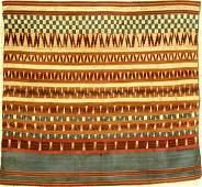 Fine Silk & Metal Thread Indonesian 'Ceremonial