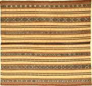 Very Fine Silk & Metal Thread Indonesian 'Ceremonial