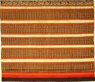 Very Fine 'Silk & Metal Thread' Indonesian 'Ceremonial