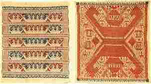 (2 Lots) Fine Indonesian 'Textiles',