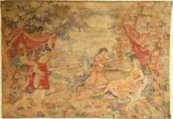 Tapestry, France, late 19th century, wool on wool