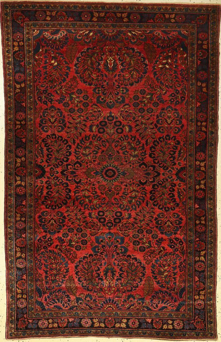 Saruk Us rug, Persia, around 1920, wool on cotton