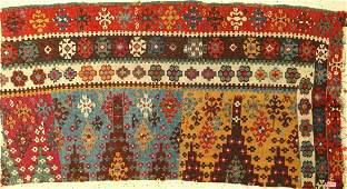 Central Anatolian Kilim (fragment), Turkey, mid 19th