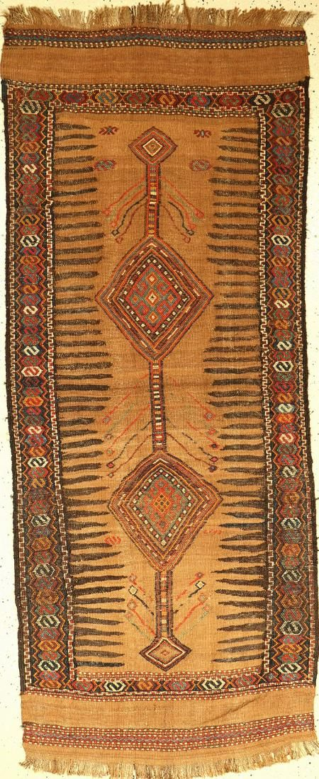 Khorassan 'Sofreh' antique (camel wool), Persia