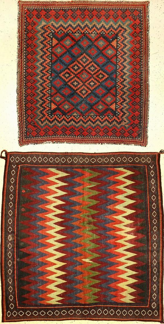 (2 lots) 2 Sofreh old/antique, southern Persia