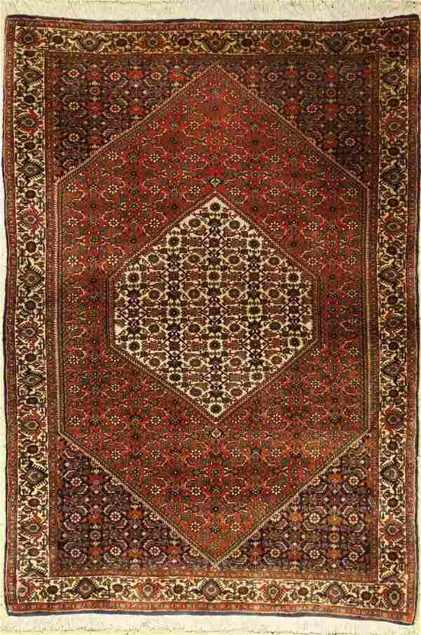 Bidjar old, Persia, approx. 40 years, wool on cotton