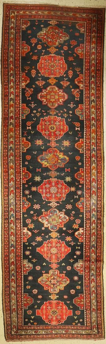 Feine Malayer runner, Persia, around 1940, wool on