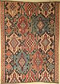Kuba Kilim (fragment), Caucasus, around 1910, wool on