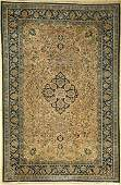 Qum with silk, Persia, approx. 50 years, wool with