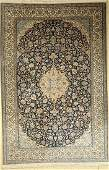 Nain fine, Persia, approx. 50 years, wool and silk