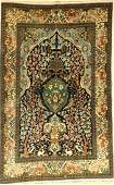 Qum fine, Persia, approx. 50 years, wool