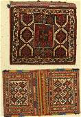 (2 lots), 1 x Khamseh bag around 1920 64 x 54cm, 1x