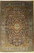 Qum, Persia, approx. 40 years, wool with silk