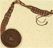 Tent Band old, Tukmenistan, approx. 60 years, wool on