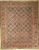 Kerman Lawer old, Persia, approx. 60 years, wool on