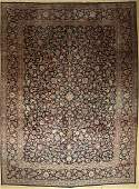 Kerman Lawer old Persia approx 60 years wool on