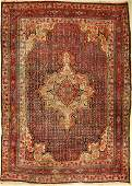 Bidjar antique, Persia, around 1920, wool on cotton