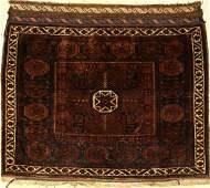 Baluch Poshti, Persia, around 1900, wool on wool
