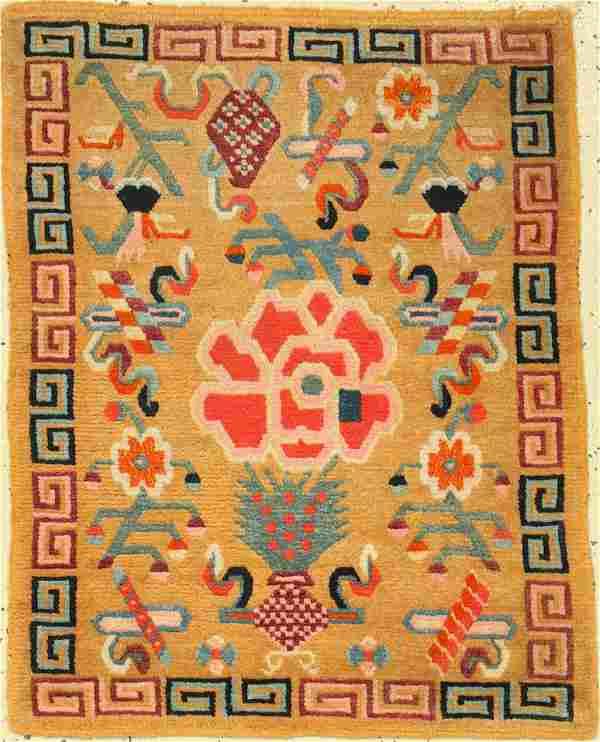 Tibet 'Goyul' antique, Tibet, around 1920, wool on