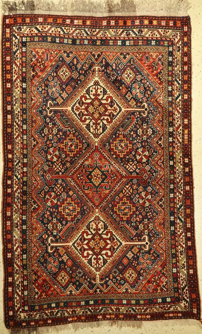 Qashqai old, Persia, around 1930, wool on wool