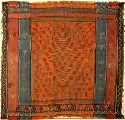 Gashgai Moj Sofreh old, Persia, around 1930, wool on