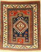Fachralo Kasak prayer rug, antique, Caucasus, around
