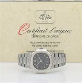 PATEK PHILIPPE Nautilus 3800 in steel with certificate