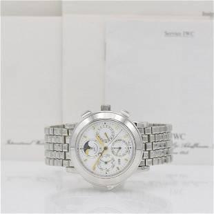 IWC Grande Complication Platinum wristwatch 3770