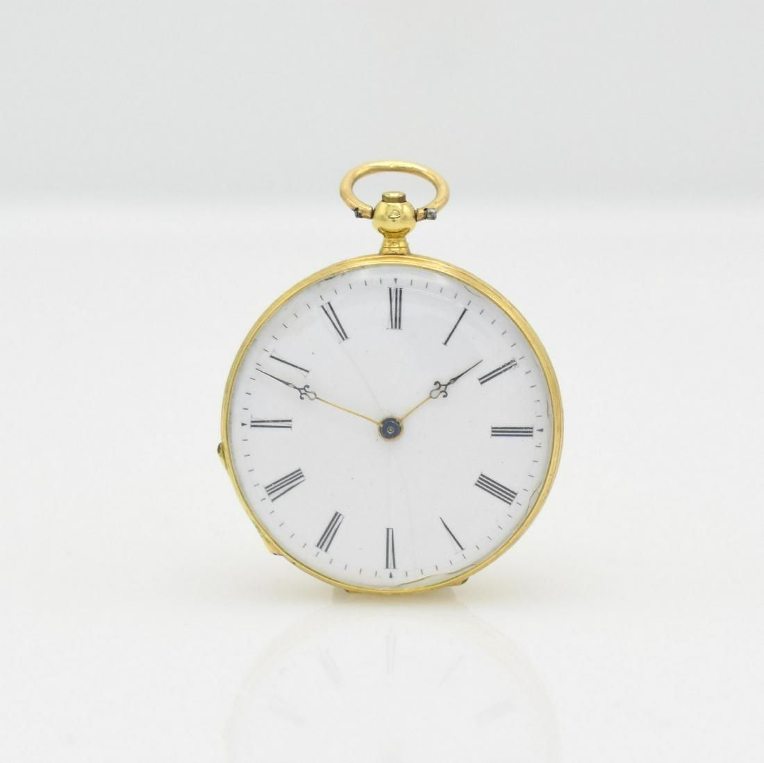 VACHERON Geneve 18k gold ladies pocket watch