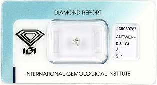 Loose old cut diamond 031 ct