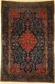 US Kashan antique, Persia, around 1900, wool,approx.
