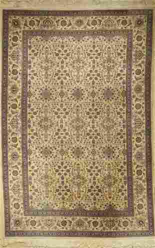 Tabriz fine, China, approx. 40 years, wool, approx. 280