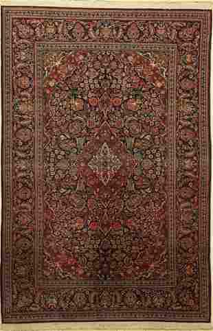 Kashan fine, Persia, around 1930, wool on cotton
