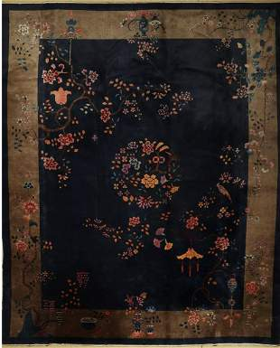 Beijing antique fine, China, around 1910, wool