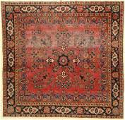 US Kashan antique Persia around 1900 wool on cotton