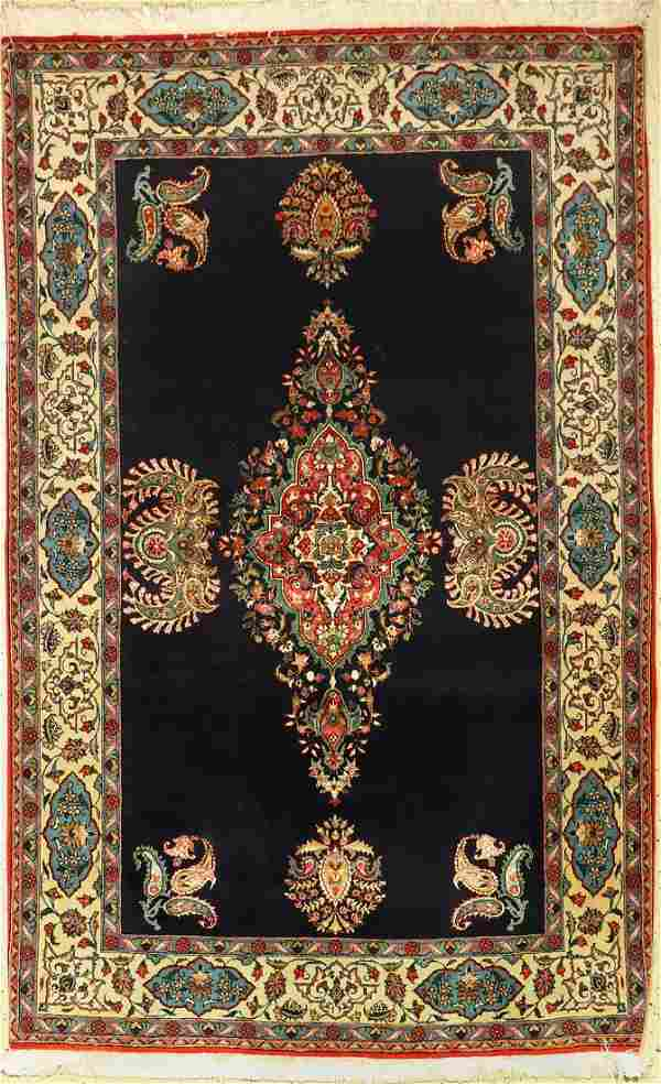 Qum , Persia, approx. 50 years, wool with silk