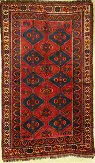 Luri old, Persia, around 1930, wool on wool, approx.