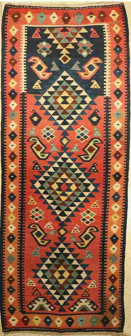 Northwest Persian Kilim old, Persia, around 1920/1930