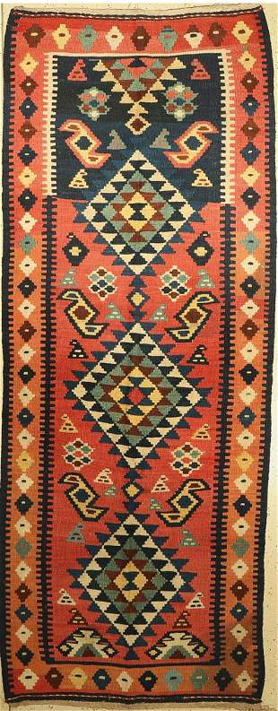 Northwest Persian Kilim old, Persia, around 1920/1930