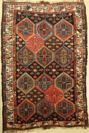 Afshar old, Persia, around 1920, wool on wool,approx.