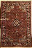 Bijar old, Persia, approx. 60 years, wool on cotton