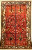 Bakhtiar tree carpet old, Persia, around 1940,wool on
