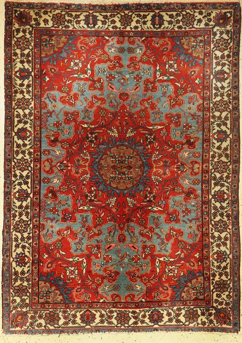 Fine Tafresh old, Persia, around 1930/1940, wool on