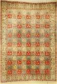 Qum old, Persia, approx. 60 years, wool on cotton