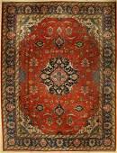 Old Tabriz, Persia, around 1930, wool on cotton