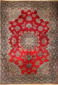 Kirman old, Persia, approx. 50 years, wool on cotton