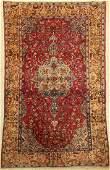 Fine silk Tehran antique, Persia, around 1900,pure