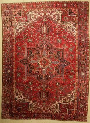Heriz old, Persia, around 1950, wool on cotton
